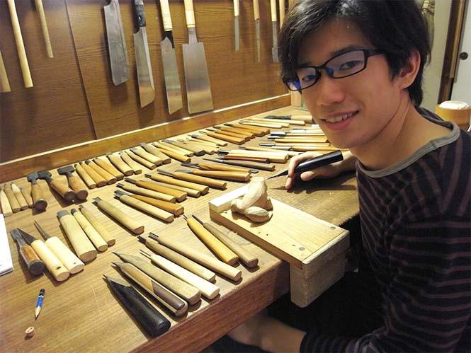 Ρεαλιστικός αστακός από ξύλο (7)