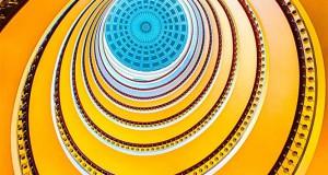 22 εντυπωσιακές σπιράλ σκάλες που μοιάζουν με έργα τέχνης