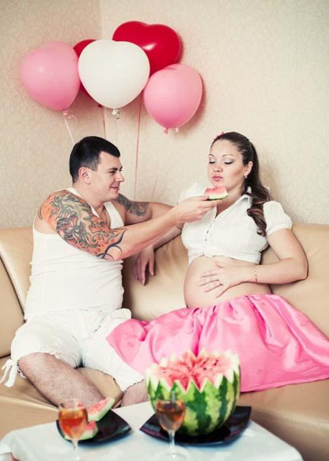 Τάισε την γυναίκα του ένα ολόκληρο καρπούζι και δείτε τι έγινε... (4)
