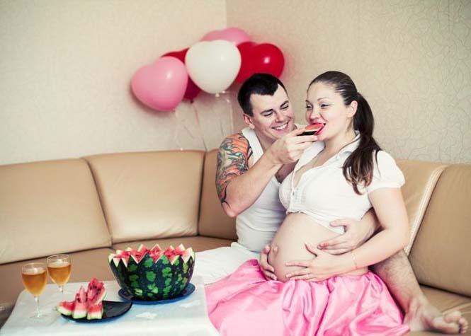Τάισε την γυναίκα του ένα ολόκληρο καρπούζι και δείτε τι έγινε... (5)