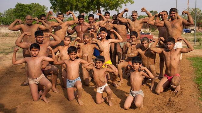 Το χωριό των Bodybuilders