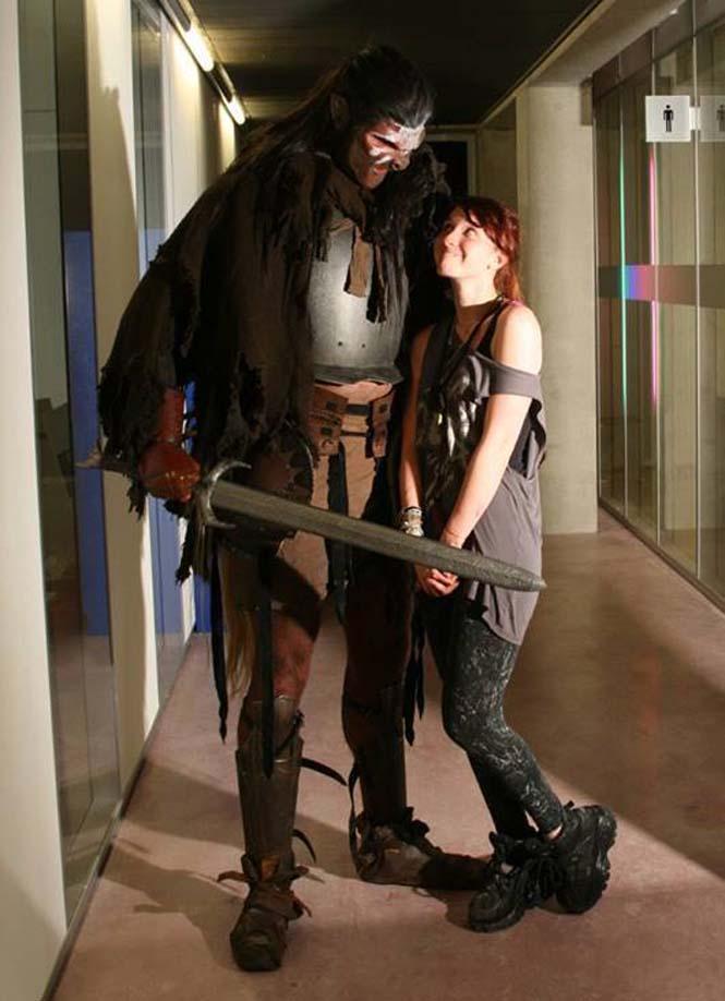 Τρομακτικό Orc βγαίνει για shopping (3)