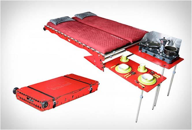 Βαλίτσα που μετατρέπει το αυτοκίνητο σε camping (5)