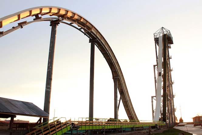 Verrückt: Η ψηλότερη, γρηγορότερη και πιο απότομη νεροτσουλήθρα του κόσμου (3)