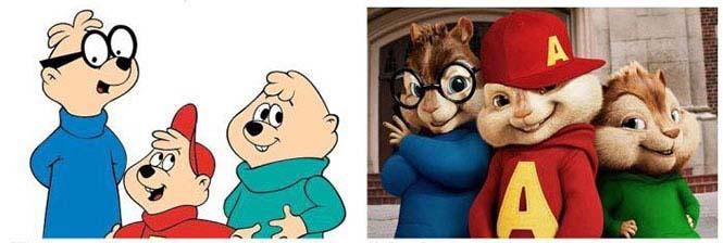 Χαρακτήρες cartoon τότε και τώρα (7)