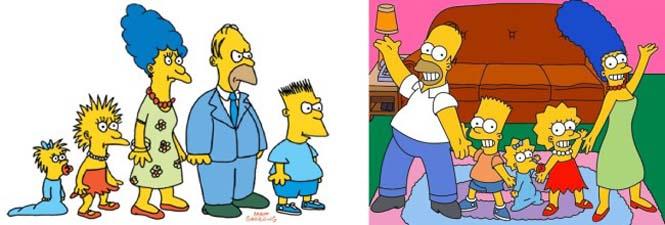 Χαρακτήρες cartoon τότε και τώρα (11)