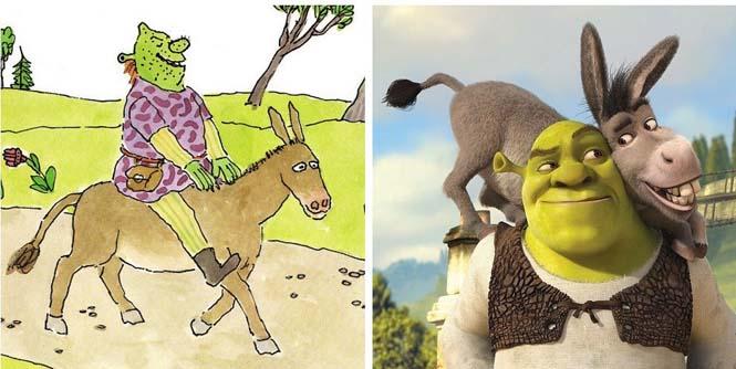 Χαρακτήρες cartoon τότε και τώρα (16)