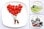 Ζωγραφίζοντας με το φαγητό (1)