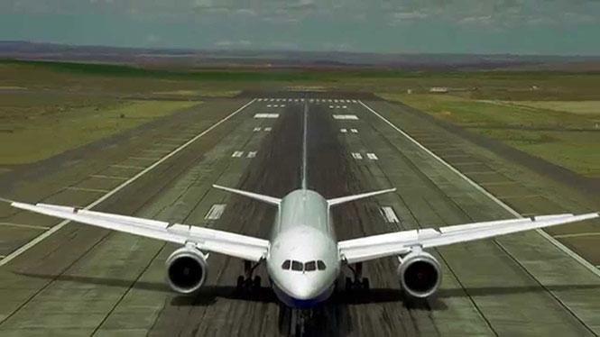 Τα αεροβατικά ενός Boeing 787 Dreamliner