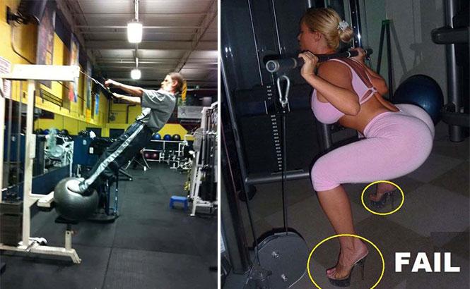 Άνθρωποι που δεν έχουν ιδέα τι κάνουν στο γυμναστήριο (1)