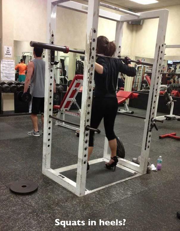 Άνθρωποι που δεν έχουν ιδέα τι κάνουν στο γυμναστήριο (2)