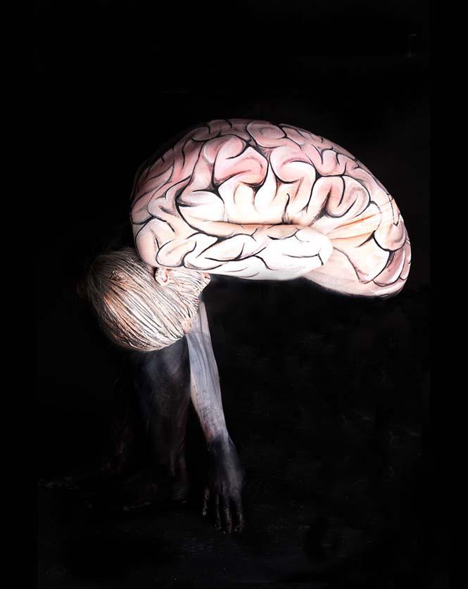 Εκπληκτικά Body paintings μετατρέπουν ανθρώπους σε ζώα ή όργανα του σώματος (5)