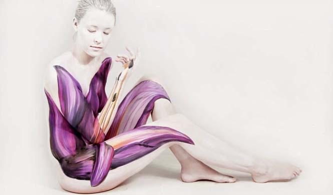 Εκπληκτικά Body paintings μετατρέπουν ανθρώπους σε ζώα ή όργανα του σώματος (10)