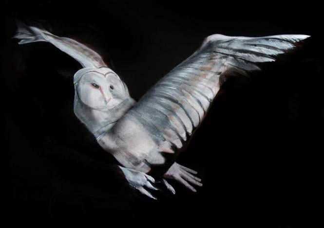 Εκπληκτικά Body paintings μετατρέπουν ανθρώπους σε ζώα ή όργανα του σώματος (11)