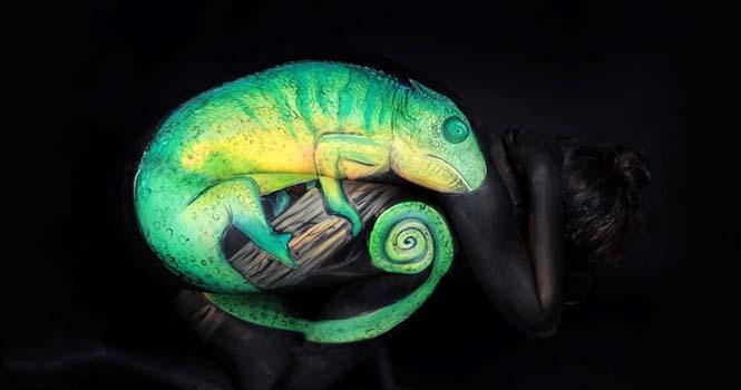 Εκπληκτικά Body paintings μετατρέπουν ανθρώπους σε ζώα ή όργανα του σώματος (12)