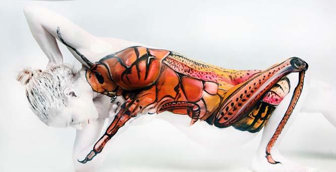 Εκπληκτικά Body paintings μετατρέπουν ανθρώπους σε ζώα ή όργανα του σώματος (14)