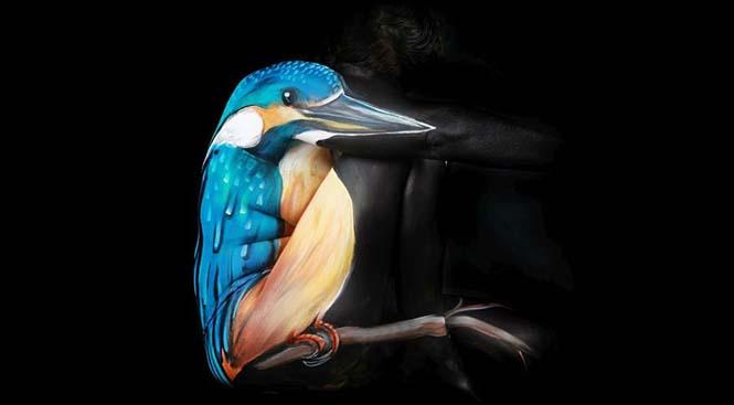 Εκπληκτικά Body paintings μετατρέπουν ανθρώπους σε ζώα ή όργανα του σώματος (17)