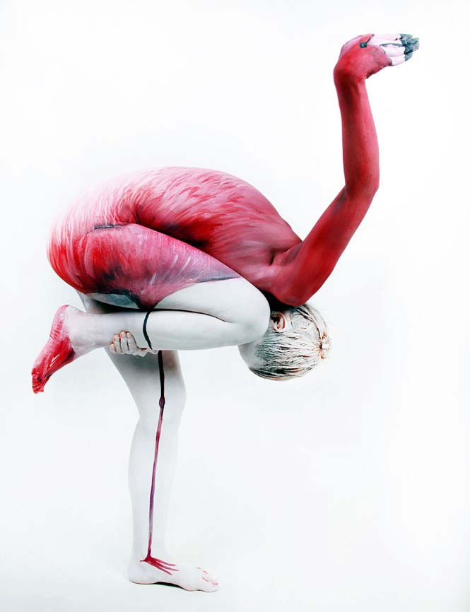 Εκπληκτικά Body paintings μετατρέπουν ανθρώπους σε ζώα ή όργανα του σώματος (18)