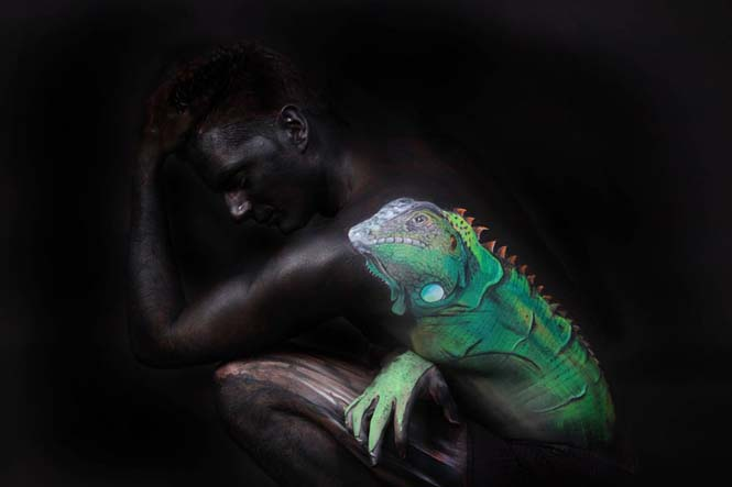 Εκπληκτικά Body paintings μετατρέπουν ανθρώπους σε ζώα ή όργανα του σώματος (19)