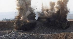 Ελεγχόμενη έκρηξη σε λατομείο πάει στραβά