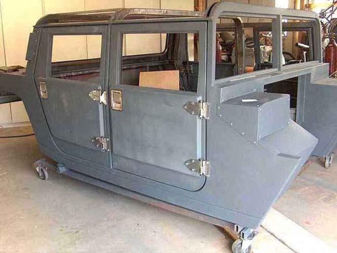 Ένα παλιό φορτηγάκι Ford F-150 μετατράπηκε σε εντυπωσιακό Hummer (6)