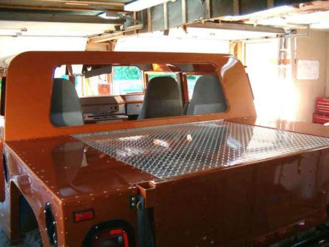 Ένα παλιό φορτηγάκι Ford F-150 μετατράπηκε σε εντυπωσιακό Hummer (17)