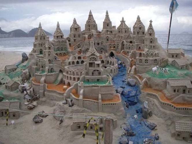 Κάστρα στην άμμο που αποτελούν έργα τέχνης (1)
