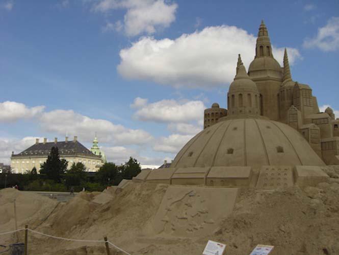 Κάστρα στην άμμο που αποτελούν έργα τέχνης (2)