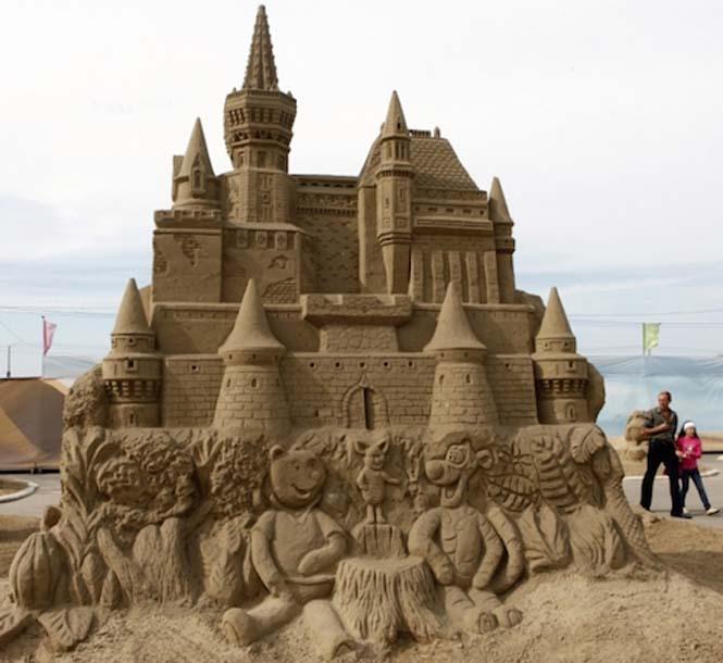 Κάστρα στην άμμο που αποτελούν έργα τέχνης (3)