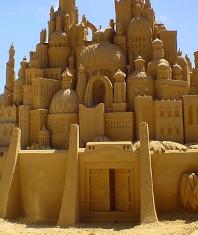 Κάστρα στην άμμο που αποτελούν έργα τέχνης (4)