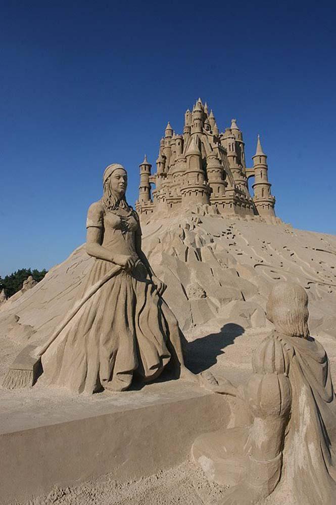 Κάστρα στην άμμο που αποτελούν έργα τέχνης (7)