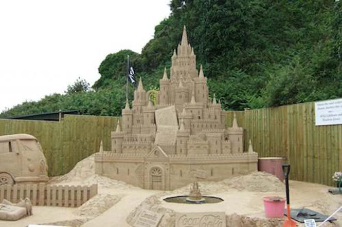 Κάστρα στην άμμο που αποτελούν έργα τέχνης (10)