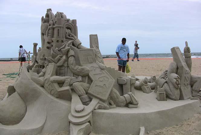 Κάστρα στην άμμο που αποτελούν έργα τέχνης (11)