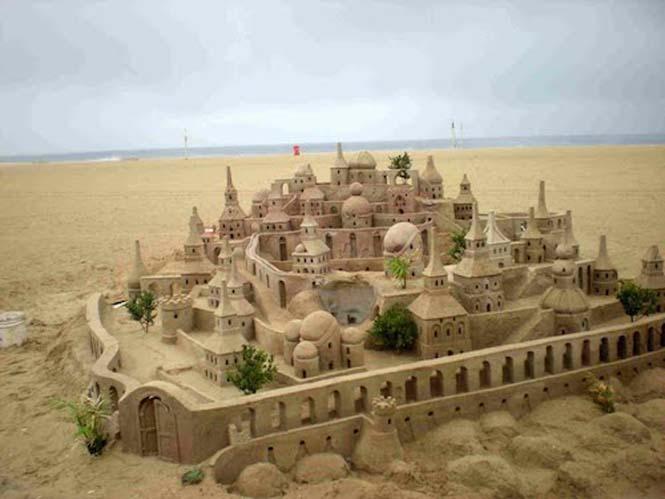 Κάστρα στην άμμο που αποτελούν έργα τέχνης (13)