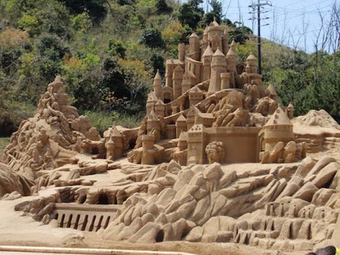Κάστρα στην άμμο που αποτελούν έργα τέχνης (15)