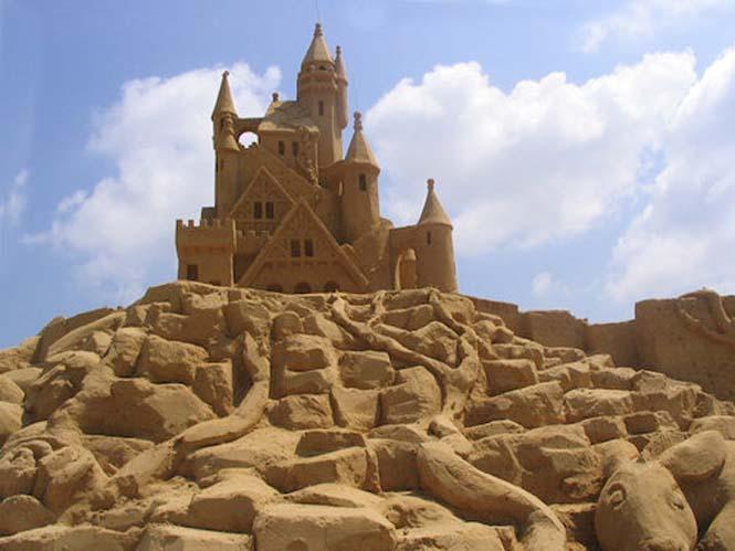 Κάστρα στην άμμο που αποτελούν έργα τέχνης (17)