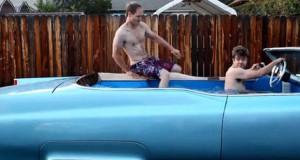 Μετατρέποντας μια Cadillac σε… κινούμενη πισίνα