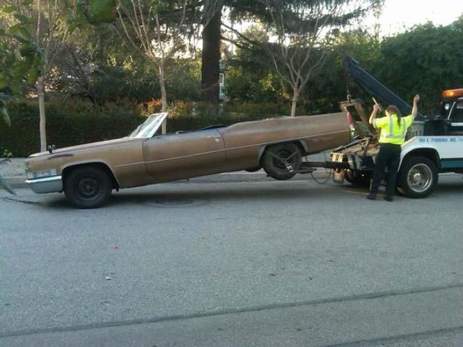 Μετατρέποντας μια Cadillac σε... κινούμενη πισίνα (2)