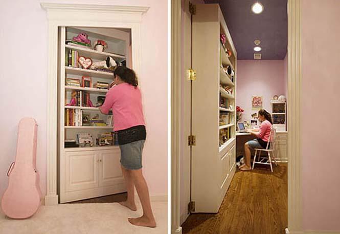 Απίστευτες ιδέες για μυστικά δωμάτια (4)