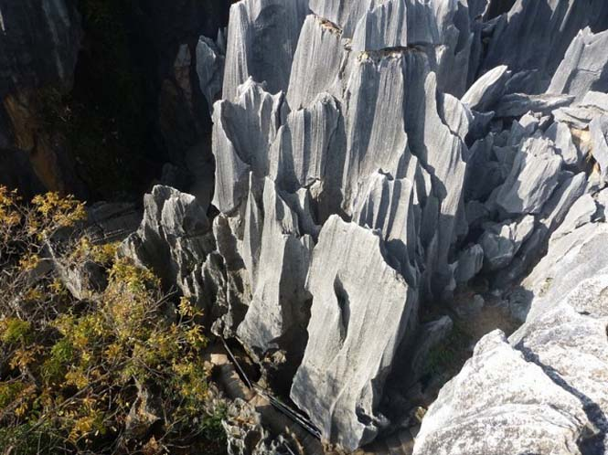 Το μυστηριώδες πέτρινο δάσος στην Κίνα (3)