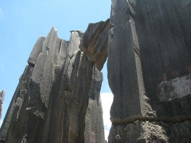Το μυστηριώδες πέτρινο δάσος στην Κίνα (4)
