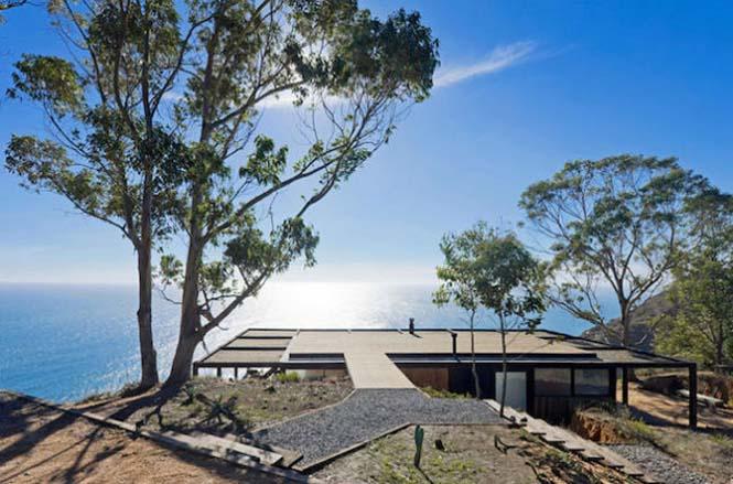 Ονειρεμένο σπίτι συνδυάζει βουνό και θέα στη θάλασσα (6)