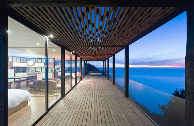 Ονειρεμένο σπίτι συνδυάζει βουνό και θέα στη θάλασσα (5)