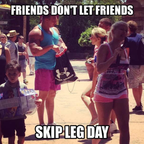 Αυτά παθαίνεις όταν ξεχνάς την... Leg Day (5)