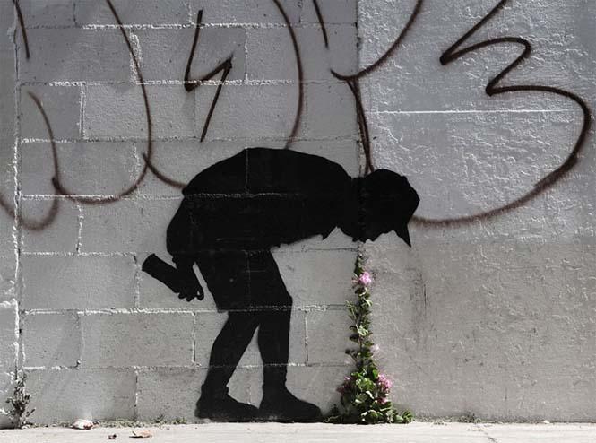 Όταν η τέχνη του δρόμου γίνεται ένα με το περιβάλλον (1)