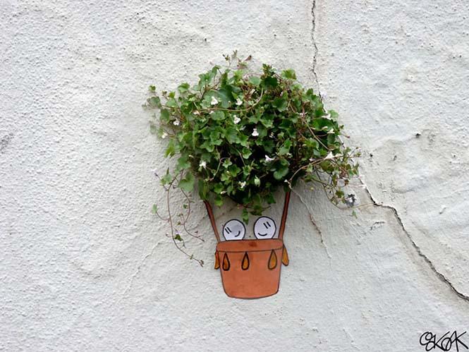 Όταν η τέχνη του δρόμου γίνεται ένα με το περιβάλλον (2)
