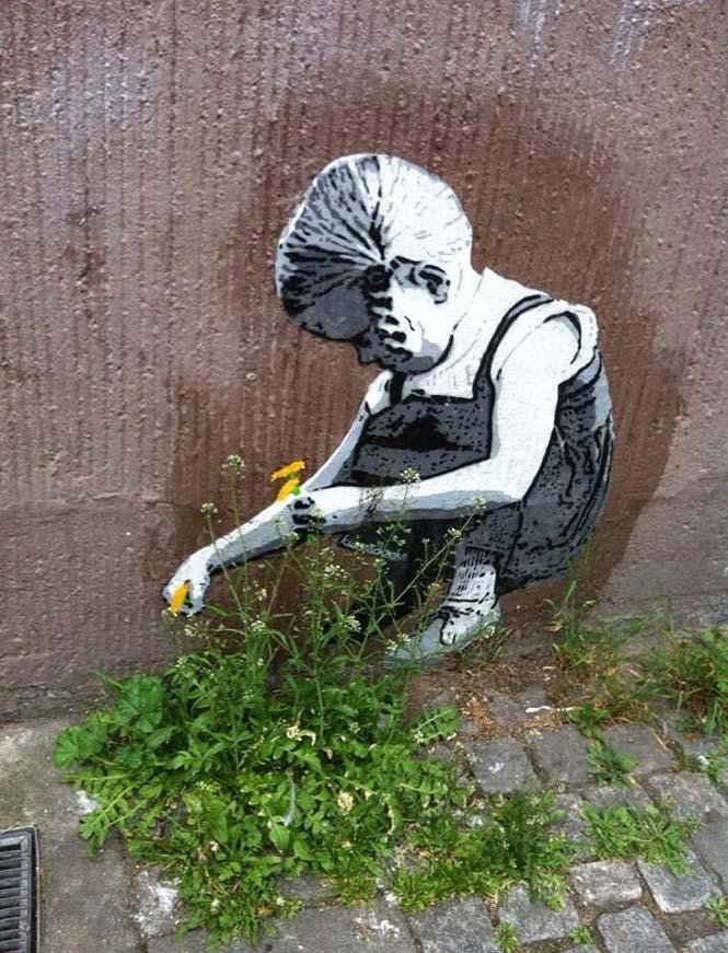 Όταν η τέχνη του δρόμου γίνεται ένα με το περιβάλλον (3)
