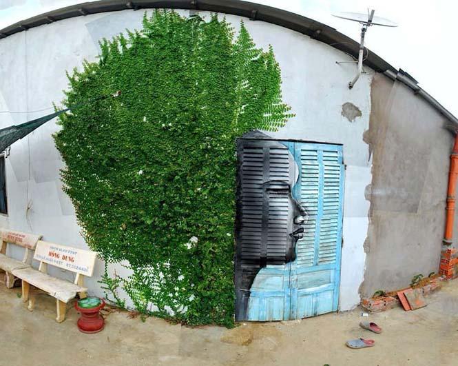 Όταν η τέχνη του δρόμου γίνεται ένα με το περιβάλλον (6)