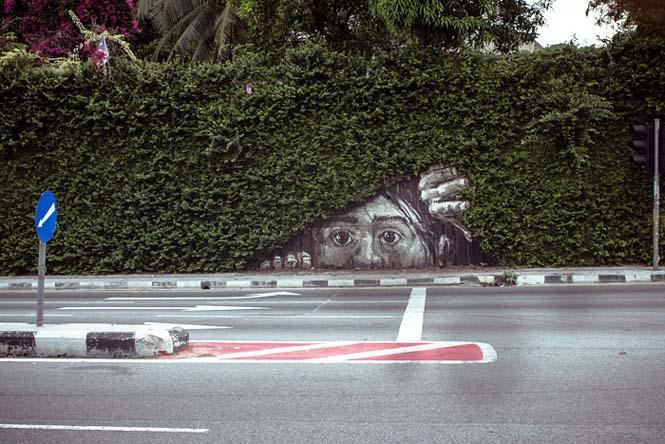 Όταν η τέχνη του δρόμου γίνεται ένα με το περιβάλλον (18)