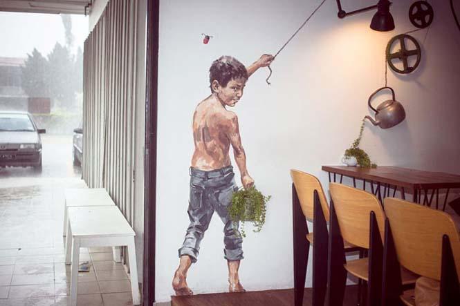Όταν η τέχνη του δρόμου γίνεται ένα με το περιβάλλον (19)